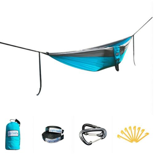 LIGHTMARE double nid Camping Hamac 4in1 Picnic Couverture//Tente//abri
