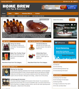HOME-BREW-GUIDE-Responsive-Niche-Website-Business-For-Sale-Free-Installation