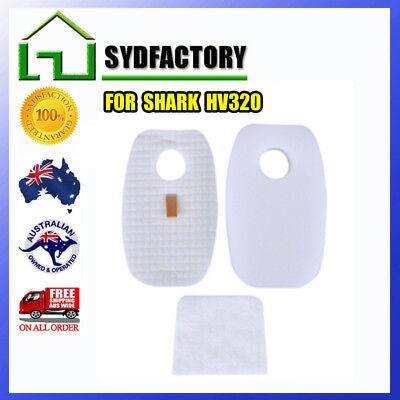5 Foam /& 5 Felt Filter Kit For SHARK ROCKET HV319Q HV320 HV320W HV321 AU STOCK