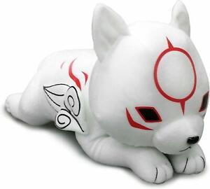 Legit-Okami-Den-Lying-Down-Chibiterasu-20-039-039-Authentic-Game-Stuffed-Plush-52646