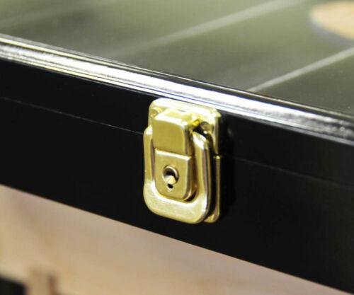 Lockable 98/% UV HO Train Display Case Cabinet for HO Scale Model Train Set