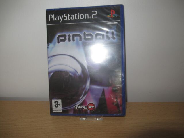 Sony Playstation 2 PS2 pal Play It Pinball New Factory Sealed