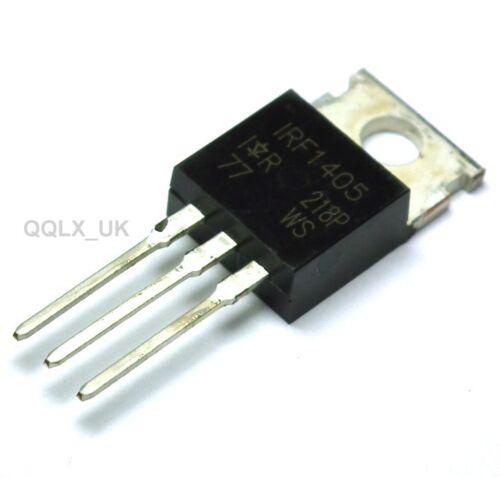 """UK seller 5pcs IRF1405 IRF 1405 Power MOSFET TO-220AB /""""IR/"""""""