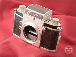 Early Exa Series 6 35mm Film Camera with Waist Level Finder - VGC - 579