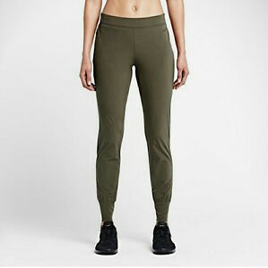 e7539db0373e NIKE Girls Woven Bliss Skinny Fit Training Pants 642536 Olive Green ...