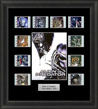 Alien V Predator Framed 35mm Film Cell Memorabilia Filmcells Movie Cell Presenta