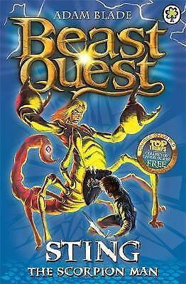 Sting the Scorpion Man: Series 3 Book 6 (Beast Quest), Blade, Adam, Very Good Bo