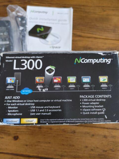 NComputing L300 Ethernet Virtual Desktop with vSpace Renewed ...