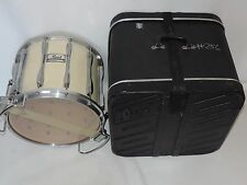 "Pearl 14"" High Tension Marching Snare Drum with Case"
