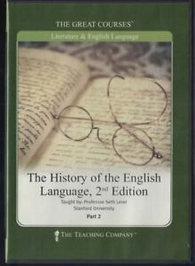 History-of-the-English-Language-Seth-Lerer-2nd-Edition-Part-2-DVD-Disc-3-amp-4