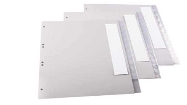 A4 versch.Varianten zur Auswahl proOFFICE Kunststoff Tabenregister Register