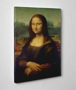 Quadro-La-Gioconda-Leonardo-da-Vinci-Stampa-su-Tela-Vernice-Pennellate-Poster