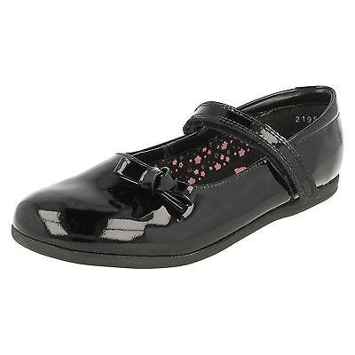Girls Startrite Schwarzes Lackleder Schuhe Minnie