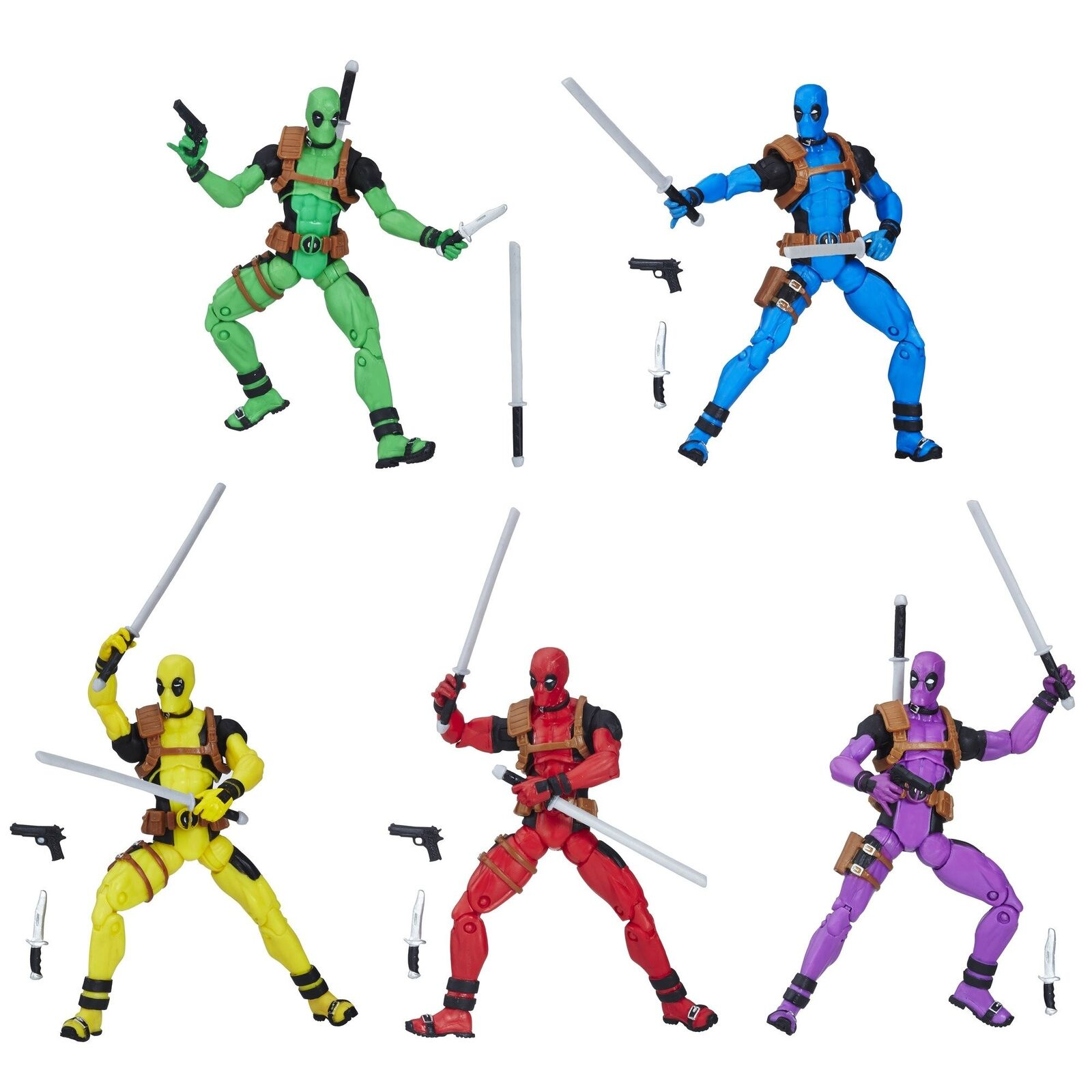 Marvel - regenbogen - gruppe fr deadpool action - figur