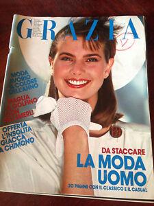 GRAZIA-10-Aprile-1983-N-2198-Rivista-Magazine-Clio-Goldsmith-Goldie-Hawn