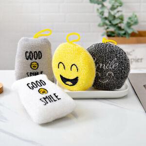 4PCS-Smile-Face-Sponge-Strong-Decontamination-Dish-Washing-Cloth-Sponge-QA