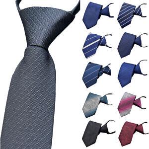 Men-s-Business-7CM-Zipper-Necktie-Wedding-Party-Formal-Neck-Tie-Stylish-Print
