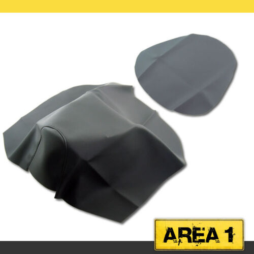 Sport Ersatz Sitzbankbezug Sitzbezug schwarz Aprilia SR 50 Netscaper Replica
