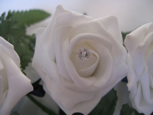 20 STRASS diamonte effet clair diamant forme tête broches argent choisir taille