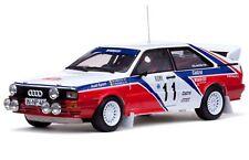 SUNSTAR 4199 Audi Quattro Diecast Modelo Rally Coche Monte Carlo Rally 1982 1:18th