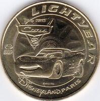 77 DISNEYLAND DISNEY LIGHTYEAR CARS 2 MÉDAILLE MONNAIE DE PARIS 2011 JETON COINS