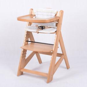 Chaise haute en bois ajustable chaise b b escalier chaise for Chaise escalier