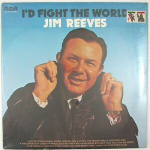 JIM REEVES I'd Fight The World LP 1974 COUNTRY (SEALED/UNPLAYED)