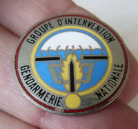 PIN'S ARMEE MILITAIRE GENDARMERIE NATIONALE GROUPE D'INTERVENTION GIGN EGF