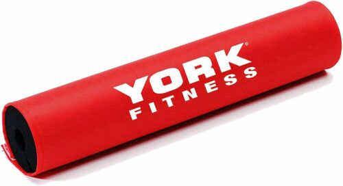 York Fitness Barbell Pad Squat Bar Support Heavy Duty Protective Weight Lifting