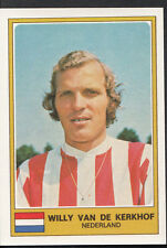 Football Sticker - Panini Euro Football 1976 - No 203 - Willy Van De Kerkhof
