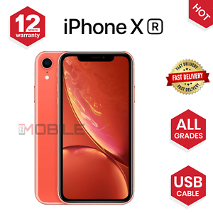 Apple-iPhone-XR-64GB-128-256GB-ALL-COLOURS-UNLOCKED-VARIOUS-GRADES