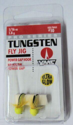 VMC Pro Series Tungsten Fly Jigs 1 pack of 2 #TFJ116 1//16oz Size 14 Hook