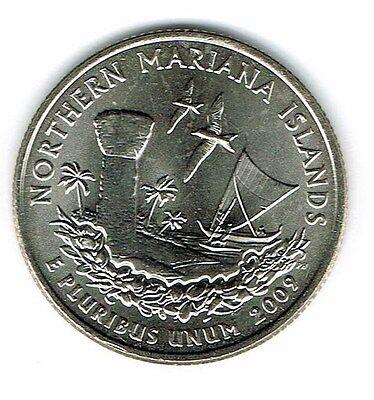 2009-D  Northern Mariana Island  U.S Territories  US Mint Roll Uncirculated Gem