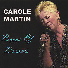"Carole Martin ""Pieces of Dreams"" cd NM"