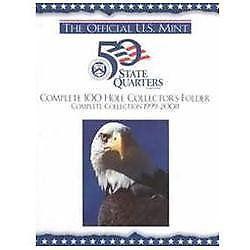 HE Harris 50 State Quarters Folder 1999-2008 Official U.S Mint