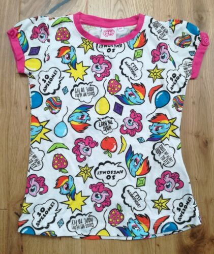 New Ex store Girl/'s My Little Pony Stars and Fruits T-shirt Ages 4 Years