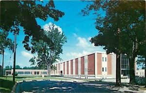 Angola-Indiana-Tri-State-College-John-G-Best-Hall-of-Science-1972-Postcard