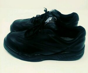 Women-039-s-Black-Steel-Toe-Safety-Shoes-Workgard-Bum-Equipment