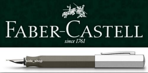 Faber-Castell ONDORO Füllfederhalter F Füller graubraun UVP 110€ *!bestprice!*