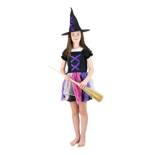 Bodysocks ® filles sorcière robe fantaisie Ouest Costume Halloween