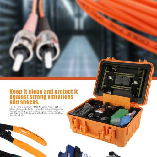 Fiber Optic Splicing Machine Optical Fiber Fusion Splicer 100V-240V 50//60Hz LJ