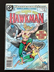 SHADOW WAR OF HAWKMAN #1 DC COMICS 1985 VF/NM NEWSSTAND EDITION