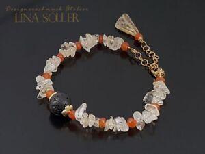 925-Silber-Armband-mit-Citrin-Karneol-Lavastein-24K-vergoldet-1631