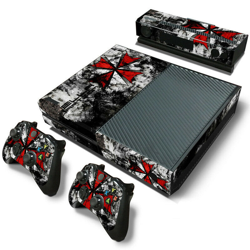 Resident Evil Game Decal Skin Sticker For XBOX ONE Console Controller Vinyl skin