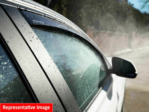 WeatherTech Side Window Deflectors for Hyundai Accent Hatchback-2012-2017-Dark