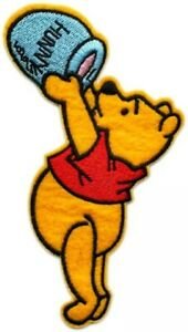 Art & Craft Supplies 4pcs winnie the pooh w/ his friends Embroidered Iron/Sew ON Patch Cloth Applique Sewing Tools & Supplies
