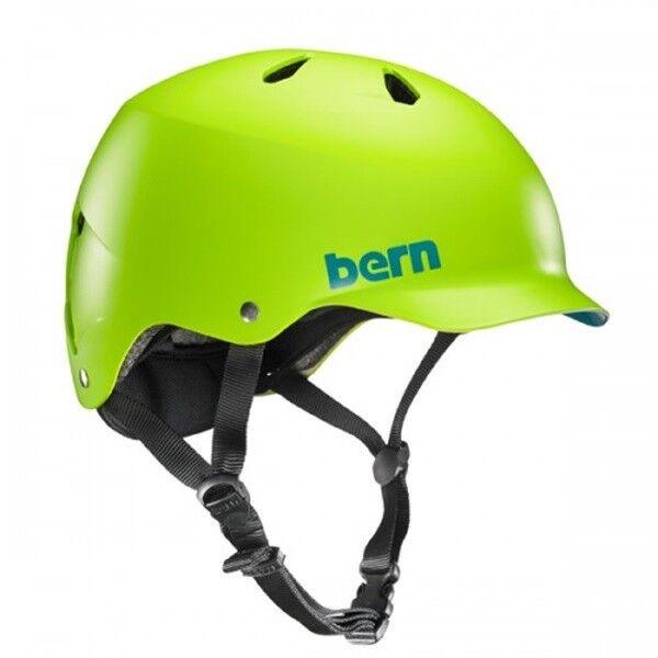 Bern Watt Sport Acquatici Wakeboard Casco Canoa, Piccolo, Neon Verde. 43336