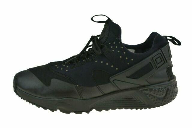 Size 9 - Nike Air Huarache Utility Triple Black - 806807-004