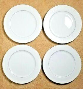 "Set of 4 Crown Victoria Lovelace 10 1/4"" Dinner Plates Japan Fine China"