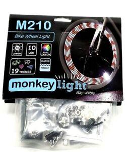 Bicycle Bike Cycling LED Spoke Light Tyre Tire Wheel Flashing Safety Lamp